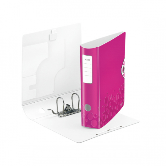 Mobilní pořadač Leitz 180° ACTIVE WOW - růžová, 5 ks