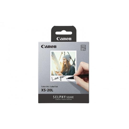 Canon XS-20L Color ink/label set