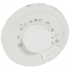 Céliane kryt termostatu bílá