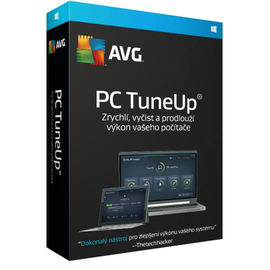 AVG PC TuneUp 2 lic. (12 měs.)