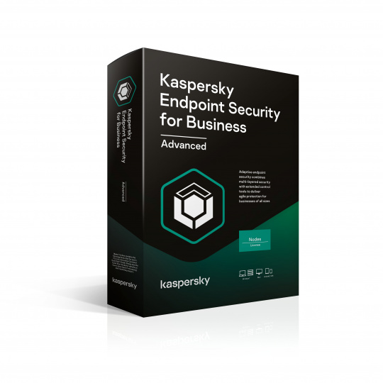 Kaspersky Endpoint Advanced 15-19 Node 1 year Nová