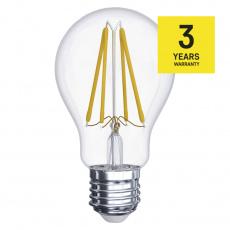 EMOS LED ŽÁROVKA FIALEMENT A60 6W(60W) 806lm E27 NW A++