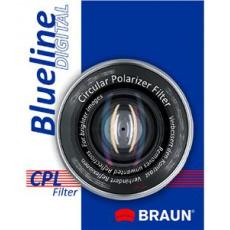 Braun C-PL BlueLine polarizační filtr 58 mm