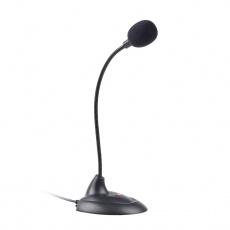 "mikrofon C-TECH MIC-04E, 3,5"" stereo jack, 1,8m"