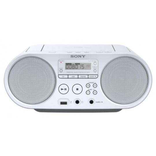 Sony mp3/CD/Radio přehrávač ZS-PS50CP,bílý