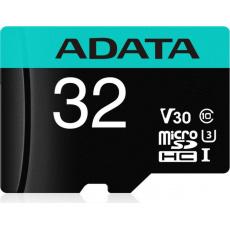 ADATA MicroSDHC 32GB U3 V30G 95/90MB/s + adapter