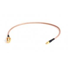 pigtail 25cm RG316 MMCX přímý - RSMA female (pin)