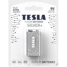 TESLA - baterie 9V SILVER+, 1 ks, 6LR61