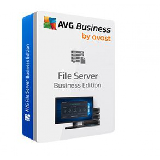 AVG File Server Business Edition, 2 lic. /12 m.