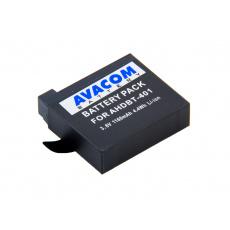 Baterie AVACOM GoPro AHDBT-401 Li-Ion 3.7V 1160mAh