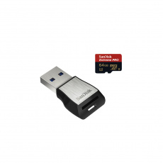 SanDisk Extreme Pro microSDXC 64GB 275MB/s + ada.