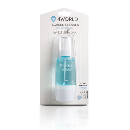4World Čistící Gel 150ml + hadřík BLUE