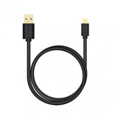 AXAGON HQ Kabel Micro USB, 2A, černý, 1 m