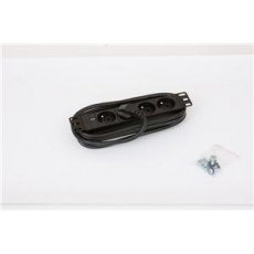 """10"""" 4xCZ zásuvka,kontrolka,3x1.5mm-2m kabel"""