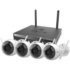 EZVIZ Wireless Security Kit - NVR inkl. 1TB HDD + 4xC3N-Kamera