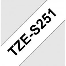 TZE-S251,  bílá/černá, 24mm