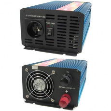 Měnič napětí Carspa P1000-12, 12V/230V1000W čistá sinusovka