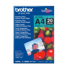 Brother papír BP71GA4, 20 listů, A4, Premium Glossy, 260g