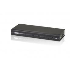 ATEN 4-port DVI KVM USB, audio 2.1, včetně kabelů