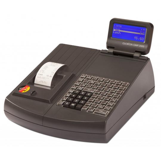 Registrační pokladna (EET CZ) QMP 2044 2XRS/USB/LA/LCK černá + EET box