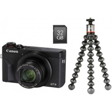 Canon PowerShot G7 X Mark III Black Vlogger kit