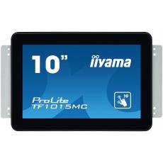 "10"" iiyama TF1015MC-B2: VA, WXGA, capacitive, 10P, 500cd/m2, VGA, DP, HDMI, černý"