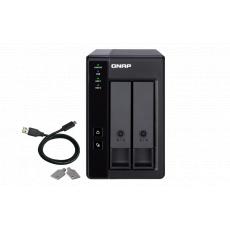 QNAP TR-002 rozšiřovací jednotka pro PC či QNAP NAS (2x SATA / 1x USB 3.1 typu C - Gen 2)