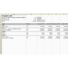 SW Import položek dokladů z Excelu Single pro Money S3 - licence pro jednu Agendu