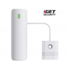 iGET SECURITY EP9 - bezdrátový senzor pro detekci vody pro alarm M5, výdrž baterie až 5 let, 1 km