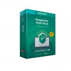 Kaspersky Anti-Virus 3x 1 rok Nová 2020 BOX