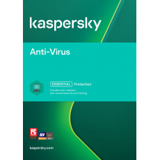 Kaspersky Anti-Virus 1x 1 rok Obnova