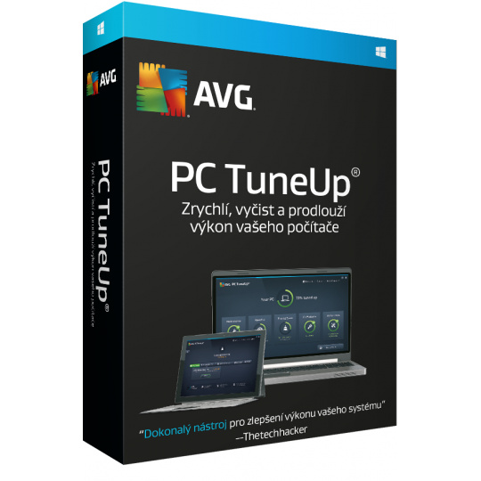 AVG PC TuneUp 3 lic. (12 měs.)