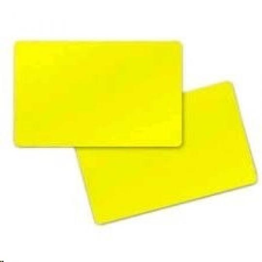 Premier (PVC) Yelow Cards,Card, 30 mil,500ks