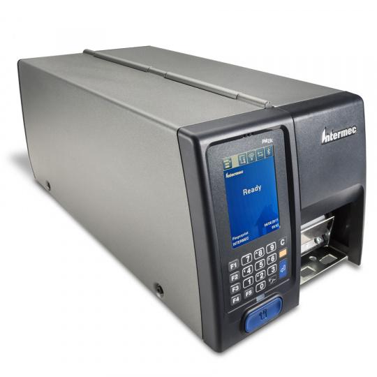"PM23C, DT, 203DPI, 2"", ICON, Rew+ LTS, Hanger + RTC, USB, RS232, LAN, Cord EU, S/S, Long Door"