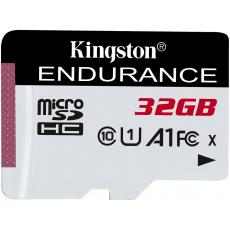 32GB microSDHC Kingston Endurance CL10 A1 95R/45W bez adapteru