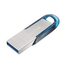 SanDisk Ultra Flair 128GB USB 3.0 tropická modrá