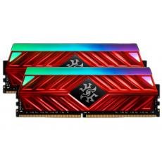 16GB DDR4-2666MHz ADATA XPG D41 RGB CL16, 2x8GB red