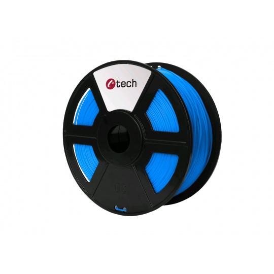 Tisková struna (filament) C-TECH, PLA, 1,75mm, 1kg, modrá