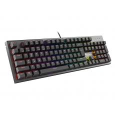 Mechanická klávesnice Genesis Thor 300 RGB, US layout, RGB podsvícení, software, Outemu Brown