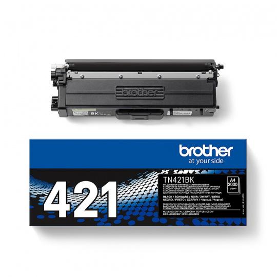 Brother TN-421BK, toner black, 3 000 str.