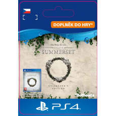 ESD CZ PS4 - The Elder Scrolls® Online: Summerset™ Collector's Ed. Upgrade