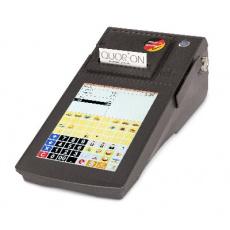 Registrační pokladna (EET CZ) Qtouch 8 Black EET 2xRS, tisk. 80mm, Lan, Dallas