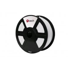 Tisková struna (filament) C-TECH, PLA, 1,75mm, 1kg, bílá