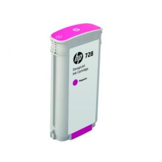 HP no 728 130-ml purpurová ink. kazeta