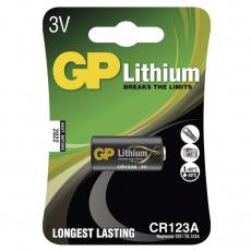 GP CR123A, 1ks, lithiová baterie