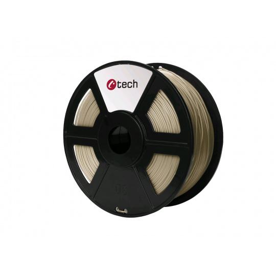 Tisková struna (filament) C-TECH, PLA, 1,75mm, 1kg, bronz
