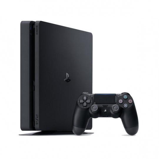 PS4 - Playstation 4 500GB F black slim