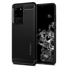 Ochranný kryt Spigen Rugged Armor pro Samsung Galaxy S20 ultra černý