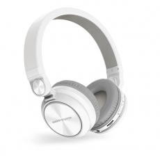Energy Sistem HP BT Urban 2 Radio White sluchátka, FM rádio, mikro SD, MP3, WAV, Li-Pol, až 10 hodin