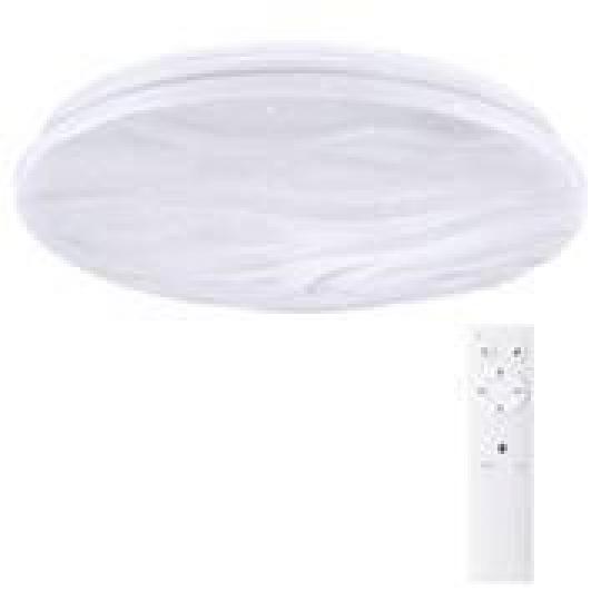 Solight LED stropní světlo Wave, 30W, 2300lm, stmívatelné, změna chromatičnosti, dálkové ovládání